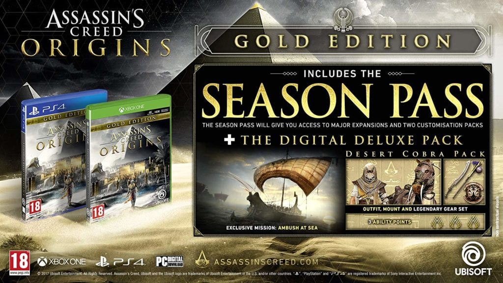 Assassins Creed Gold Edition