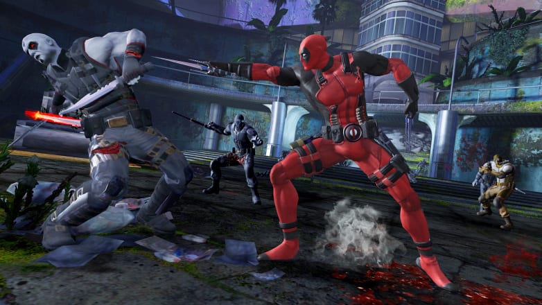 Dead pool the Game