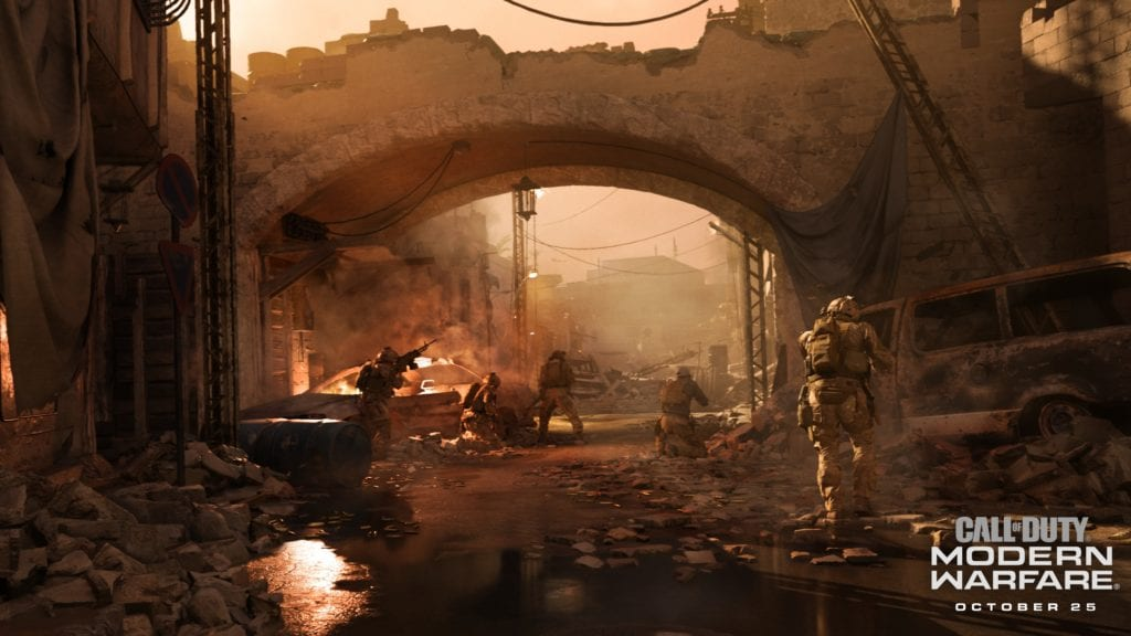 Modern Warfare Supports Ray Tracing Technique