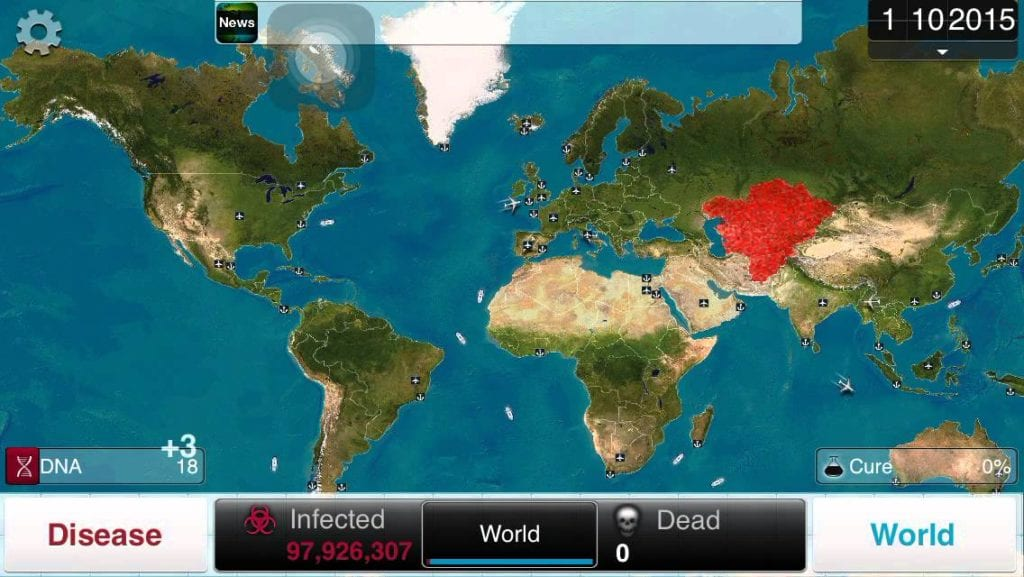 Plague Inc Mobile