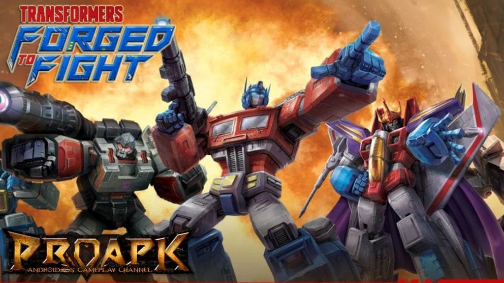 Transformers Forged to Fight MOD APK {Unlimited Crystals, Money}
