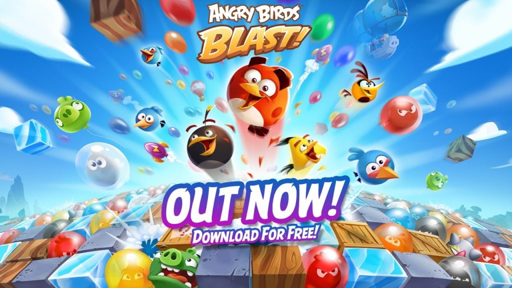 Angry Birds Blast Mod APK [Infinite Money + Lives + Moves