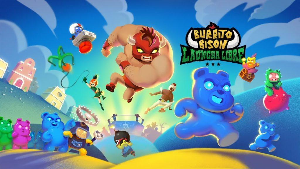 Burrito Bison Launchen Libre