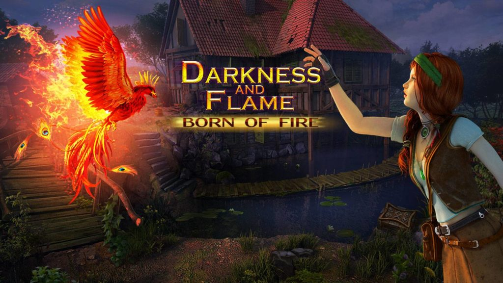 Darkness and flame