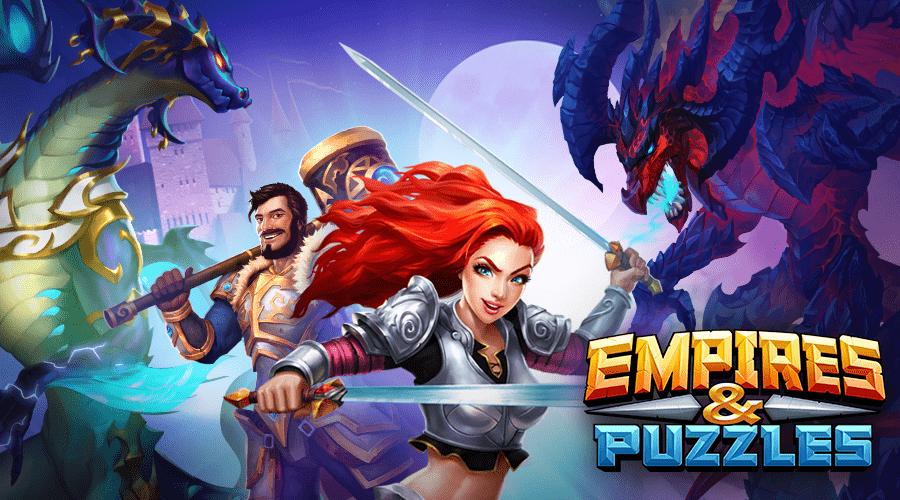 Empires and puzzles: RPG Quest