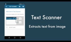 Image to Text (OCR Scanner)
