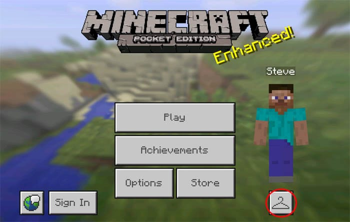 Minecraft- PE