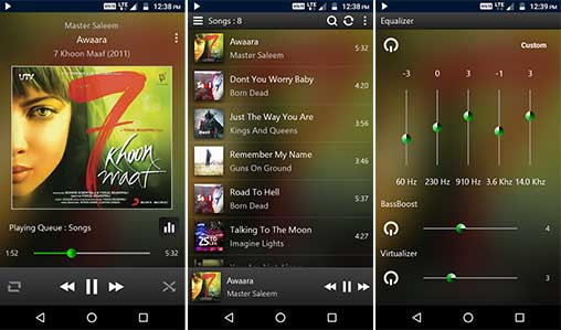 Power Audio Pro Music Player