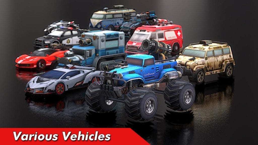Cars Battle Royale: Overload