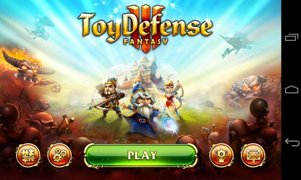 Toy defence fantasy