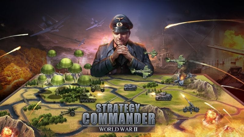 WW2: Strategy Commander Conquer Frontline